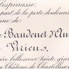 Charlotte Louise Baudenet D'Annoux Comtesse Ludovic De Virieu 1885