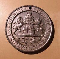 Northampton Edu. Authority Kingsthorpe Grove School Attendance Victorian Medal