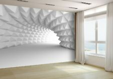 3D Abstracto Arquitectura Túnel de Papel Pintado Mural Foto 44303329 Premium