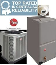 1.5 Ton 14SEER Rheem Heat Pump System Condensing Unit / Air Handler with Coil
