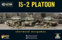 Warlord Games - Bolt Action - Soviet 28mm IS-2 Platoon Plastic - Factory Sealed