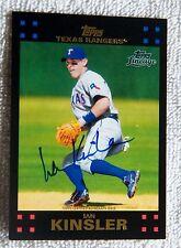 Texas Rangers Ian Kinsler 2011 Topps Lineage Auto Card