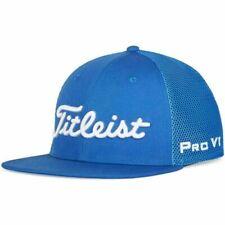 New Titleist Golf Tour Flat Bill Mesh Trend 2020 Th20Atfbmt Blue White Hat