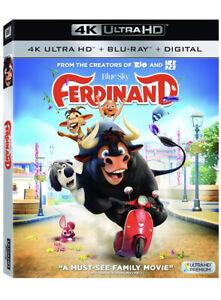 Ferdinand 4K Blu-Ray New Sealed