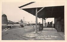 Real Photo Postcard Loading Dock for Timber Products Company of Oregon~111049