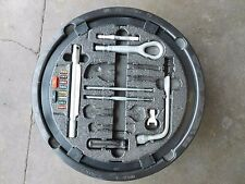 00-06 MERCEDES S430 4DR EMERGENCY SPARE TIRE TOOL KIT WITH TIRE BRACKET #VNT