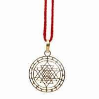 SHRI YANTRA PENDANT SRI SHREE PENDANT KAVACH TO GET PEACE AND PROSPERITY