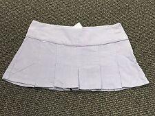 Juniors LILU Purple Lavender  corduroy PLEATED mini skirt size 15