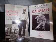 Nicolas de Staël Herbert von Karajan biographies ARTBOOK by PN