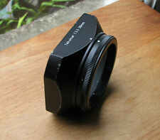 Pentax m42 28 mm f3.5 Morsetto Su Paraluce 51 mm su 49 mm