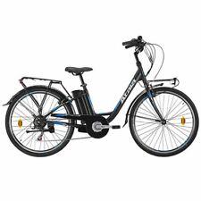 """Atala e-Bike E-Way 36 Volt 6v 26"""", Black/Light Blue Matt"""