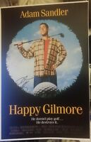 ADAM SANDLER SIGNED HAPPY GILMORE MOVIE POSTER 12x18 CLICK WATERBOY PHOTO PROOF