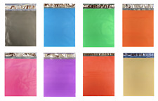 1 1000 Colored Poly Mailers Red Green Pink Blue Black Orange Yellow Purple Bags