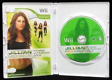 Jillian Michaels Fitness Ultimatum Nintendo Wii 2009 Video Game