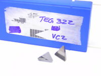 NEW SURPLUS 7PCS. VALENITE TEG 322  GRADE: VC2  CARBIDE INSERTS