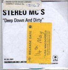 (BR375) Stereo Mc's, Deep Down And Dirty - DJ CD
