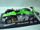 MG LOLA EX 257 2002 IXO SERIE PRESSE 24 HEURES DU MANS 1/43