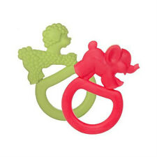2 Vanilla Teething Ring New by Vulli Sophie the giraffe