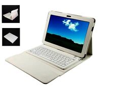 2 IN 1 Bluetooth Wireless Keyboard + Leather Case Cover Samsung Tab 10.1