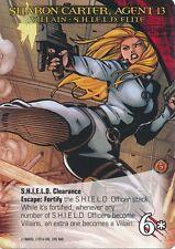 SHARON CARTER, AGENT 13 Upper Deck Marvel Legendary VILLAIN S.H.I.E.L.D. ELITE