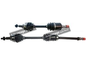 FOR VOLVO C30/ S40/ V50 2004-2012 DRIVE SHAFTS FRONT NEAR & OFFSIDE LEFT PAIR