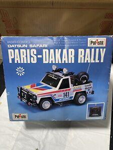 TOYOTA PARIS-DAKAR RALLY POLISTIL RADIOCOMANDATO RADIO CONTROL VINTAGE
