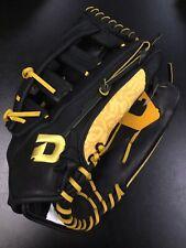 "DeMarini Rogue Softball Glove Left Hand Right Throw 14"" Black Yellow Slowpitch"