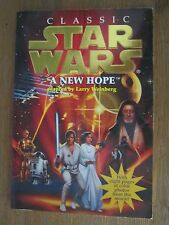 CLASSIC Star Wars  A new Hope book from 1996