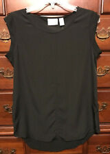 Chico's Black Samantha Sleeveless Top Size 0 (4/6) NWT