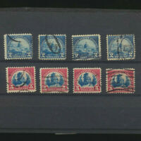 USA #572 - 573 LOT of 4 Each USED 1923 High Value Stamps Capital Freedom Head