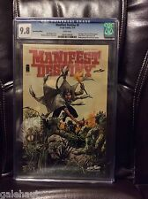 MANIFEST DESTINY # 8 CGC 9.8 SDCC VARIANT! CONNECTING COVER W/WALKING DEAD!