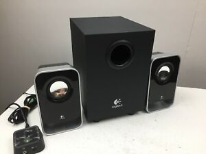 Logitech - LS21 - 2.0 Stereo Speaker System With Sub - PC Computer Speakers -