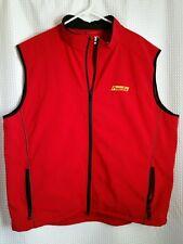 Power Bar PowerBar Red Vest by Clique Sz XXXL ~ Unisex ~ VERY NICE!