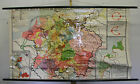 Schulwandkarte Wall Map German Rich German Empire, Before 1945, Luther 185x107