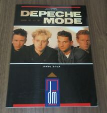 All DEPECHE MODE Japan SPECIAL ISSUE 1990 magazine NOT tour book OTHERS listed!