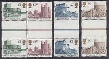 Machins:1992 CASTELLI £ 1 - £ 5 SG 1611-4 MNH verticale grondaia PAIA