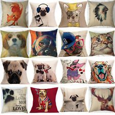 Cute Animal Pattern Pillow Cover Throw Pillow Case Sofa Cushion Cover Home USE