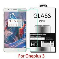 9H Premium Tempered Glass Screen Protector Film For OnePlus 3 0.26mm
