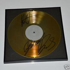 Bernhard Brink Autogramm auf  Deko goldene Schallplatte  / Autograph in Person