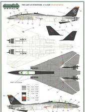 "F-14 B/D TOMCAT ""GRIM REAPERS"" (U.S. NAVY MKGS) #7245 1/72 MODELMAKER"