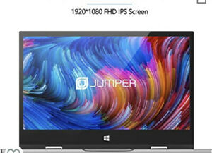 ⭐️Jumper 11.6 inch Touch screen Laptop 6GB DDR3 128GB ROM Tablet Pc Windows 10✅✅
