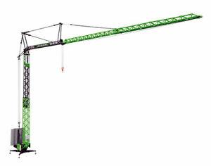 NZG 870-02 Volk Bau - Liebherr 81 K Fast Erecting Tower Crane 1/50 Die-cast MIB