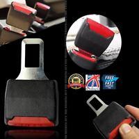 2 Pcs Car Seat Belt Clip Buckle Extender Support Safety Alarm Stopper Canceller
