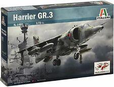 Italeri 1:72 1401: Düsenflugzeug  HARRIER GR.3 - Falkland-Krieg