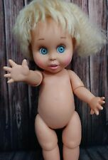 Baby Face Galoob doll #7 so innocent Cynthia 1990 vintage nude