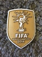 FIFA WM Trikot Patch + Weltmeister 2014 Badge + NEU + DFB Deutschland