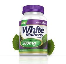 White Mulberry Leaf 500mg 60 Weight Loss Diet Pills Capsules Evolution Slimming