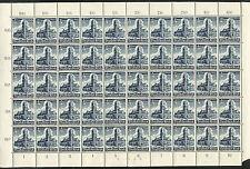Reich 752 postfris vel van 50 zegels