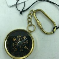 Nautical Brass Compass Key Ring for the Pirate Captain, Collectable & Functional