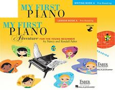 Faber - My First Piano Adventure Level A - Lesson Book w/ CD & Writing Book Set